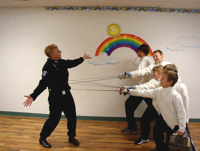 Cracovia Olympic Foil Fencing School In Madison